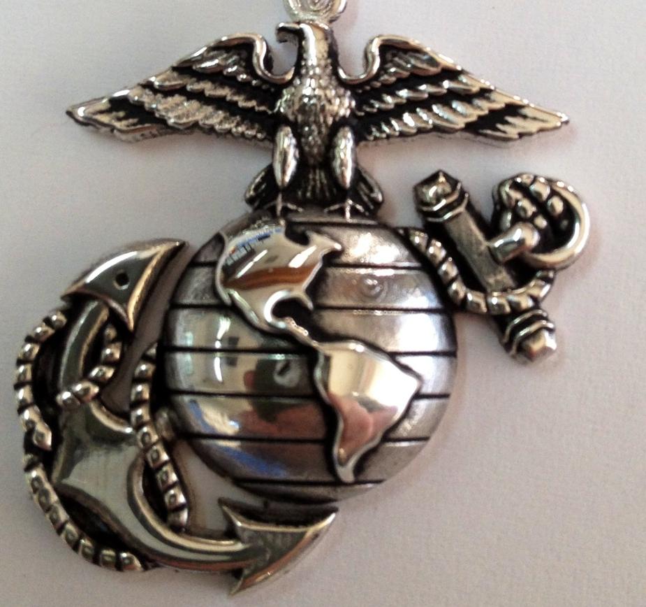 USMC Eagle Globe and Anchor Pendant